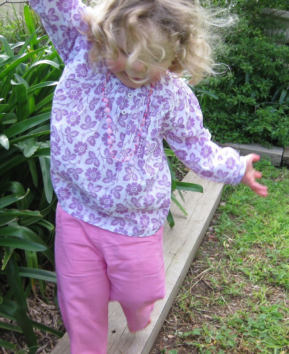 Lightweight cool cotton top Breezy Lilac back in stock