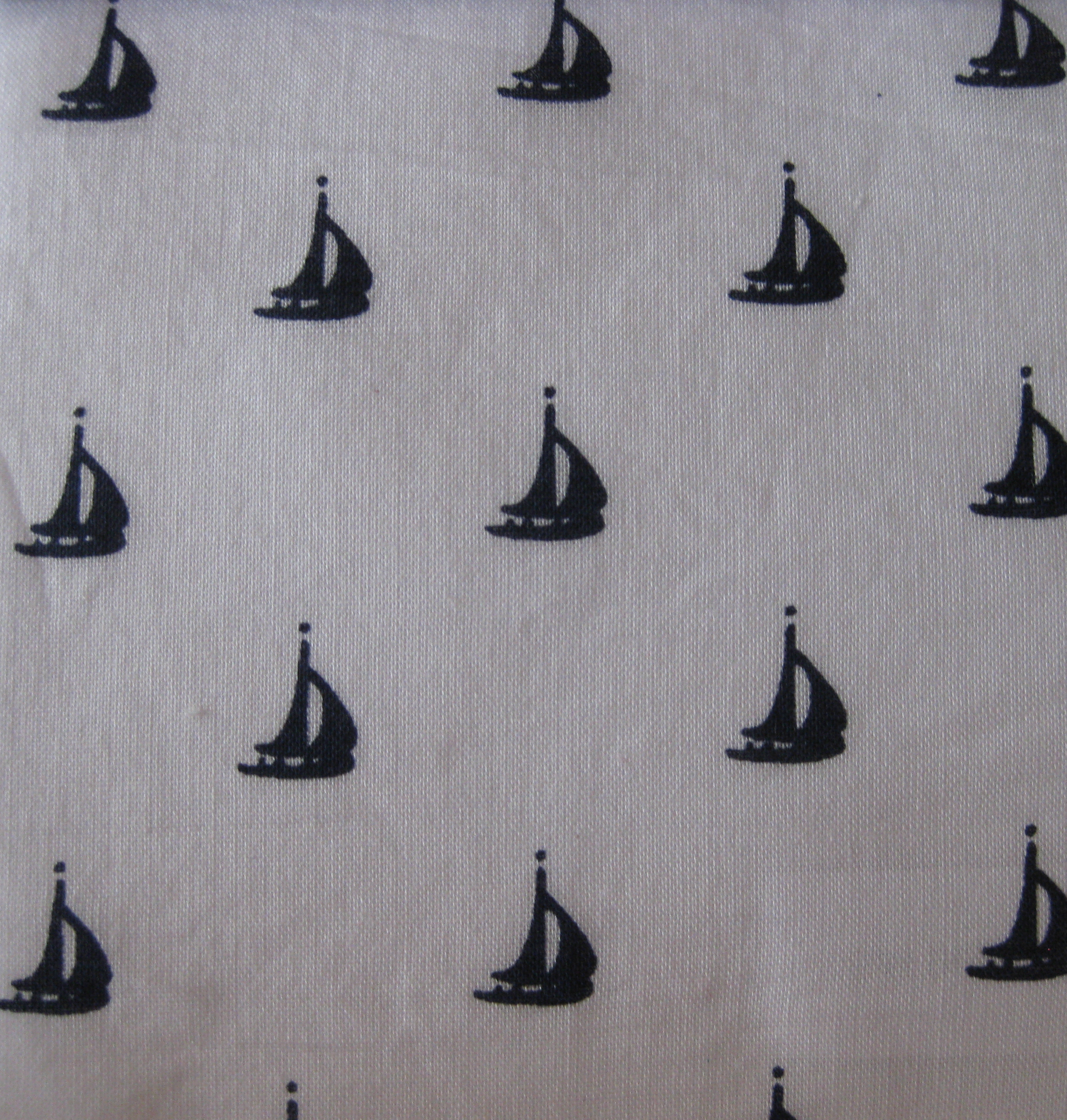 White background Sailboat