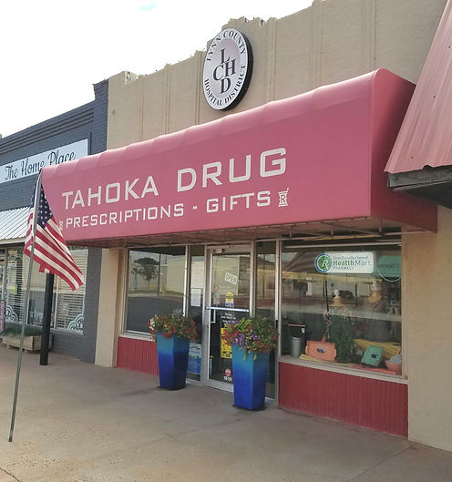 Photo of Tahoka Drug store front
