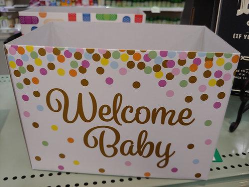 Custom Welcome Baby Gift Box