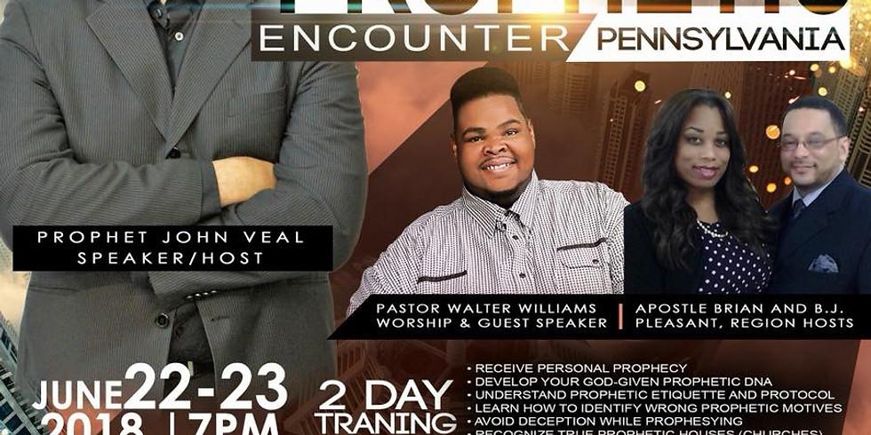 Supernaturally Prophetic Encounter 2018 with Prophet John Veal