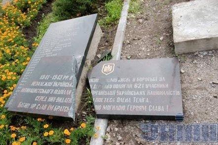 Ukrainian Canadians Condemn Vandalism of Commemorative Markers at Babyn Yar