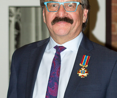 """Ukrainian ambassador bestows honour, unveils sculpture in Kingston,"" The Whig Standard, Dec 7, 2019"