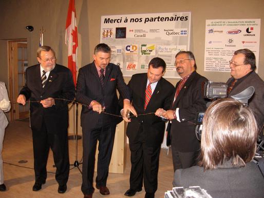 UCCLA participates in unveiling of Spirit Lake Camp Internment Centre