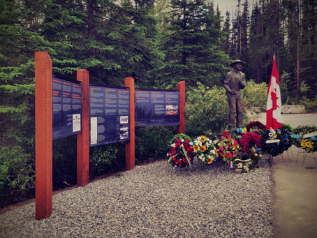 Yoho WWI Internment Camp Site Memorialized and Consecrated
