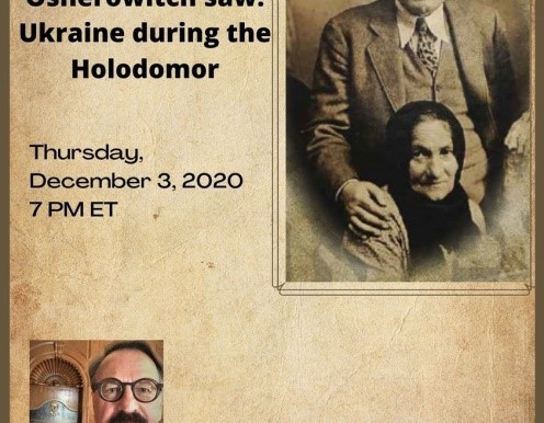 Online presentation: What Mendel Osherowitch saw: Ukraine during the Holodomor