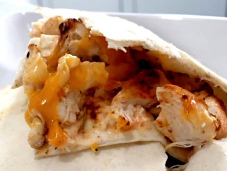 Copycat Taco Bell Chicken Quesadilla