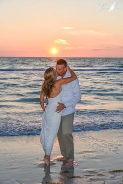 North Clearwater Beach Wedding