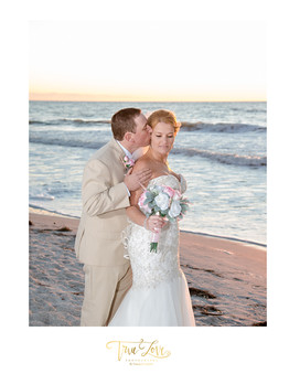Clearwater FL, Beach Wedding with True Love Photography.
