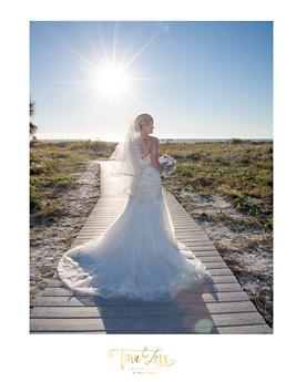 Intimate Wedding Clearwater Beach, FL.