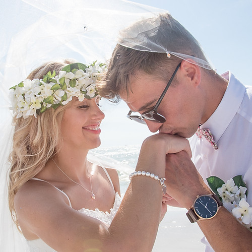 Jade + Luke Hilton Intimate Wedding