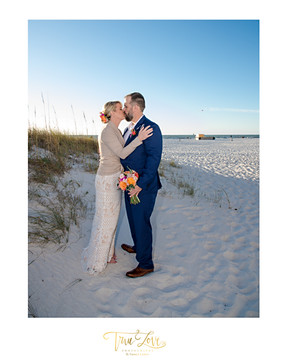 Clearwater Beach Wedding with True Love Photography.