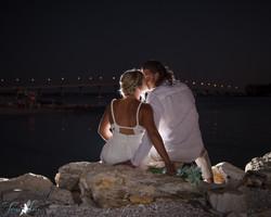 Wedding on the Beach at Shephard's