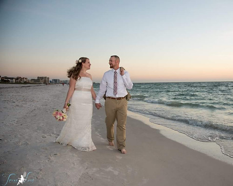 North Clearwater Beach Florida Wedding
