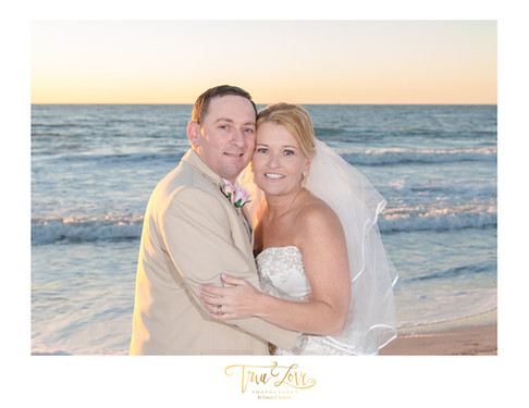Clearwater Beach Wedding with true Love Photography