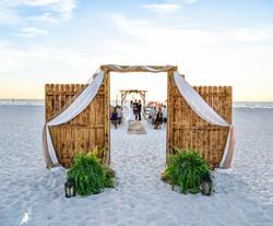 Clearwater Beach Rustic Wedding