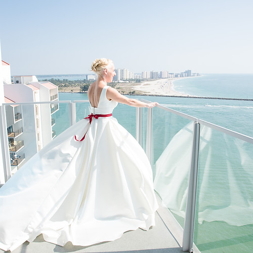 Karrie + Stephen Opal Sands Wedding