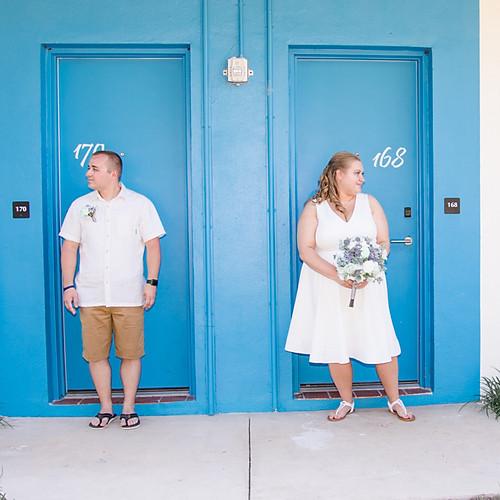 Lizzy + Brent Postcard Inn At The Beach Wedding
