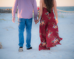 Engagement at Opal Sands, Clearwater