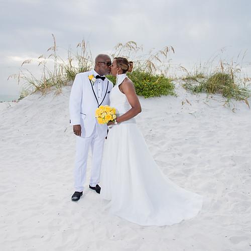 Kim + Daue Hilton Clearwater Beach Wedding Vow Renew