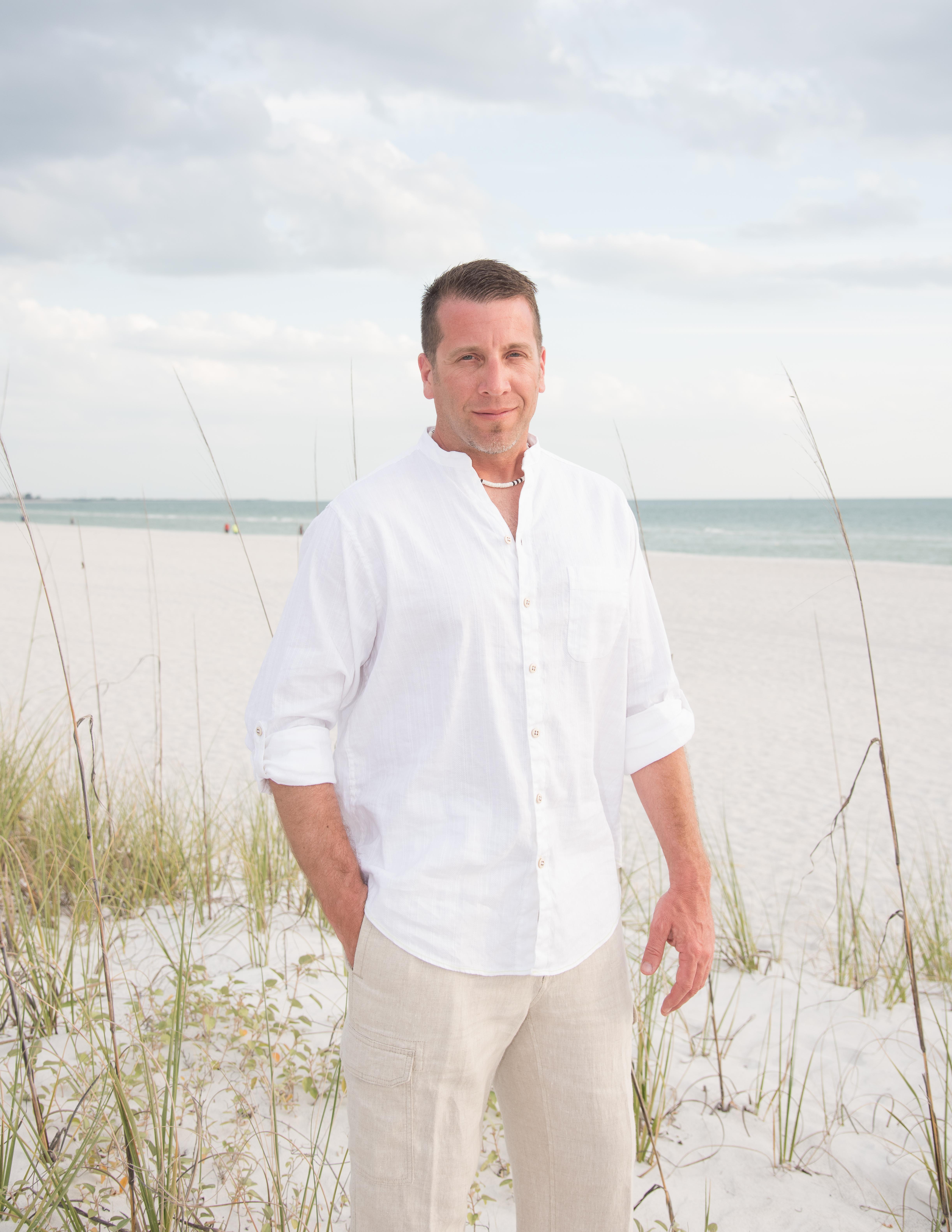 Groom on St. Pete Beach, FL.