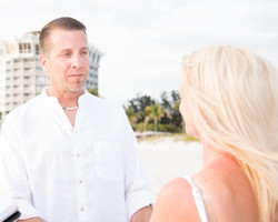 Wedding on St. Pete Beach, FL.