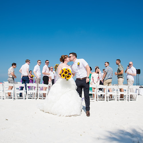 Lauren + Anthony's Hilton Clearwater Beach Intimate Wedding