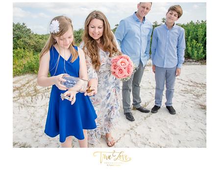 Dunedin, FL Beach Wedding