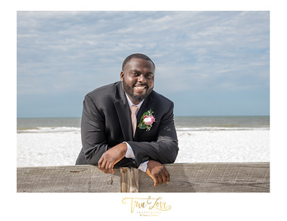 Clearwater Beach Intimate Wedding.