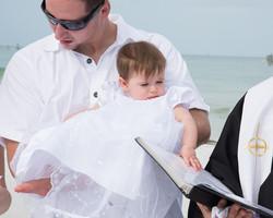 Baby Baptism Fort Desoto Beach, FL