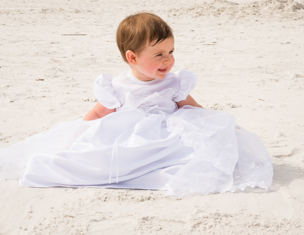 Baby Photography on the Beach.