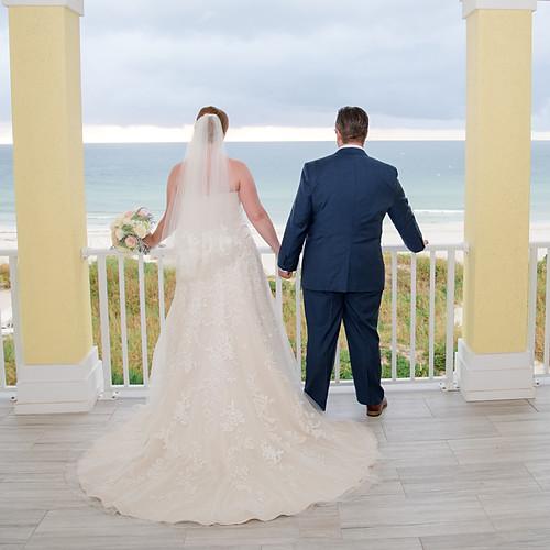 Mikal + Matt's Intimate Wedding Indian Rocks Beach, FL