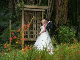 Melissa + Joe's                               Romantic Garden Wedding