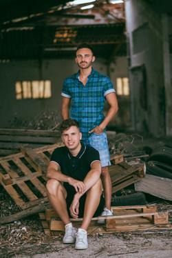 Yoann et Vincent