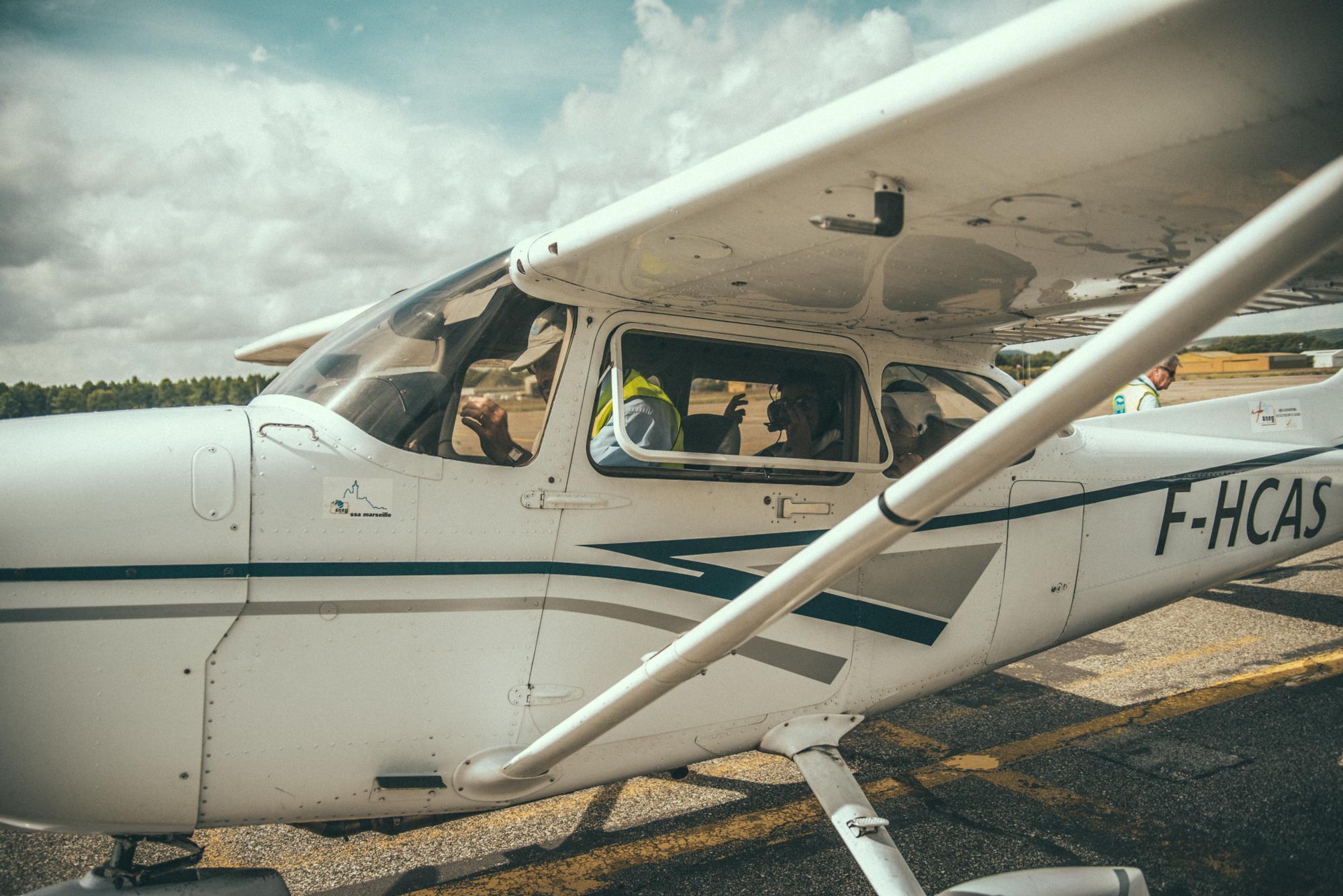 Sortie Aérodrome des Milles