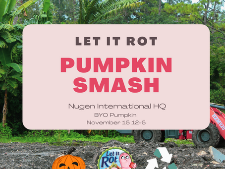 Let it Rot has been growing steadily for the last few months! Pumpkin Smash + announcements;