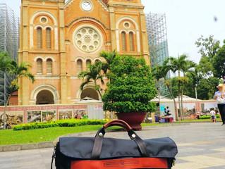 Briefpack 雙面變形包測試心得-越南胡志明市遊記