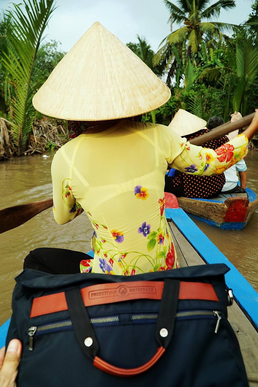 Briefpack 雙面變形包 試用心得 越南遊記