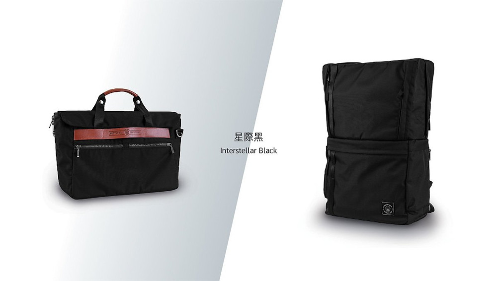 Briefpack Interstellar Black