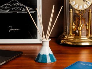 FREESTONE 職人手作系列 | 陶瓷擴香瓶-富士山限量款
