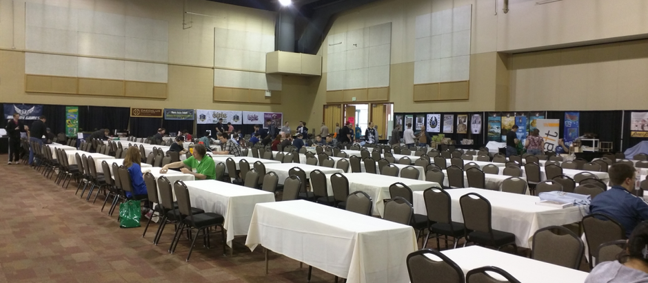 Meeple Nation at SaltCON 2016