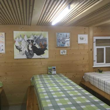 Besucherhütte
