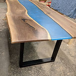 Wood & Resin Table