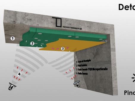 Techos Tensados QR Microperforados
