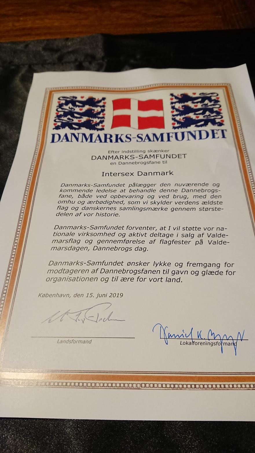 15. Juni. 2019: Valdemarsdag Fanemarch