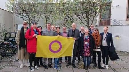 8. Nov. 2019: Intersex day of solidarity og møde med sundhedsministeren.