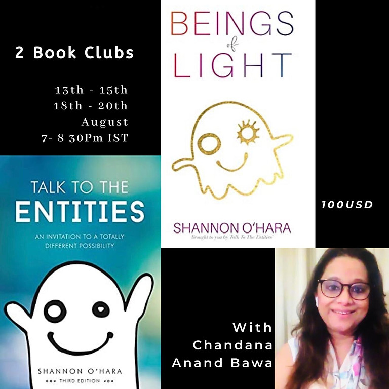 Book Club- Talk to the entities & Beings of Light