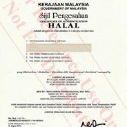 CrystaGuard Halal Cert