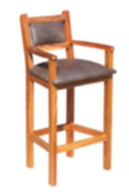 Classic Captains Barchair with uph Seat