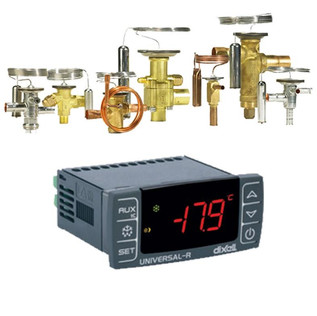THERMOSTATIC AND ELECTRONIC VALVES